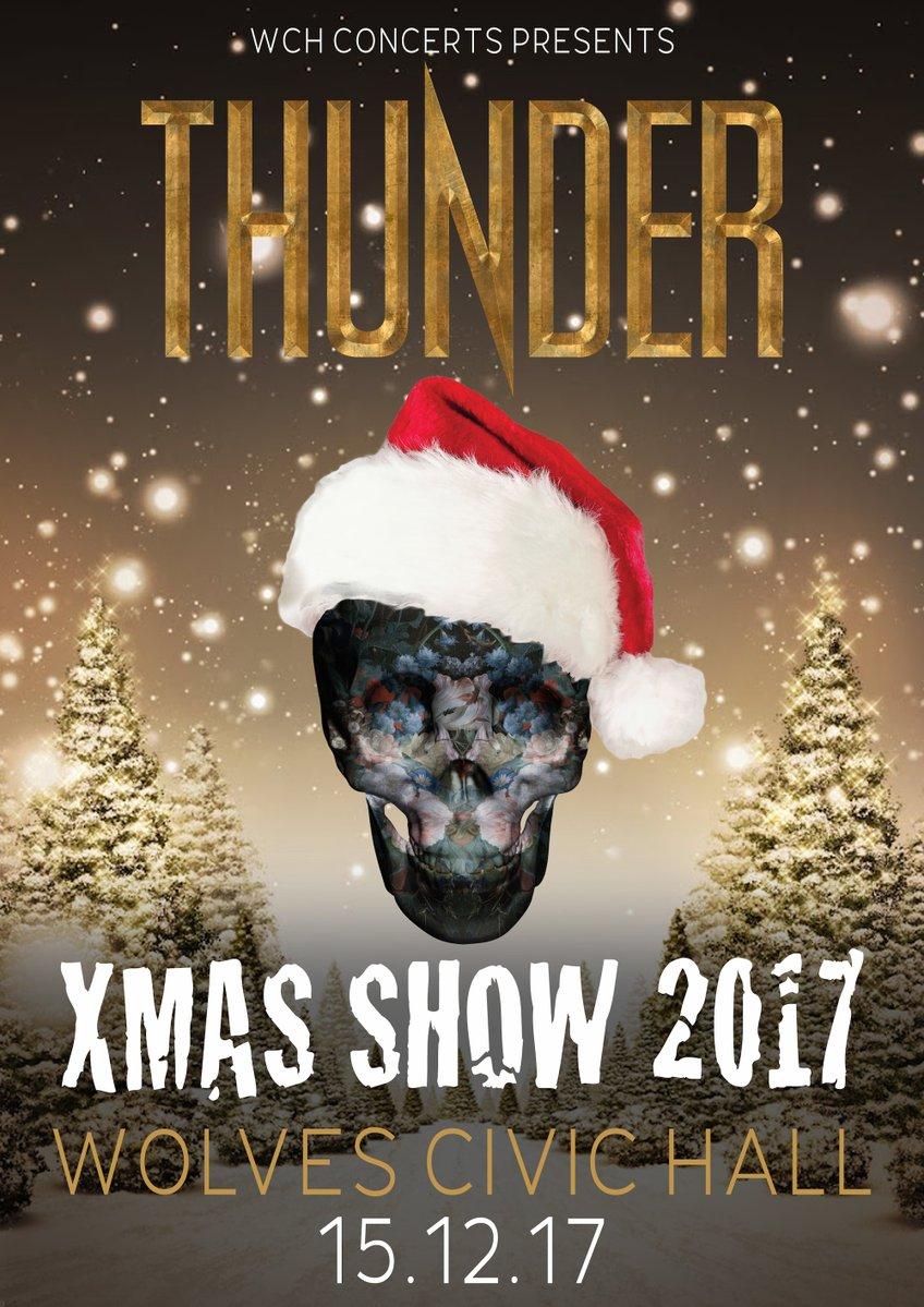 THUNDER - CIVIC HALL, WOLVERHAMPTON, 15/12/17 - MaximumVolumeMusic