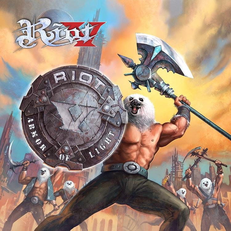 RIOT - new album featuring a Christian lead vox Riot-V-Armor-Of-Light-Artwork